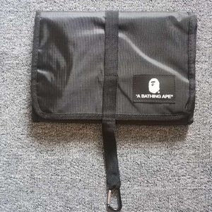 Bape Mesh Crossbody Drawstring Tote Bag